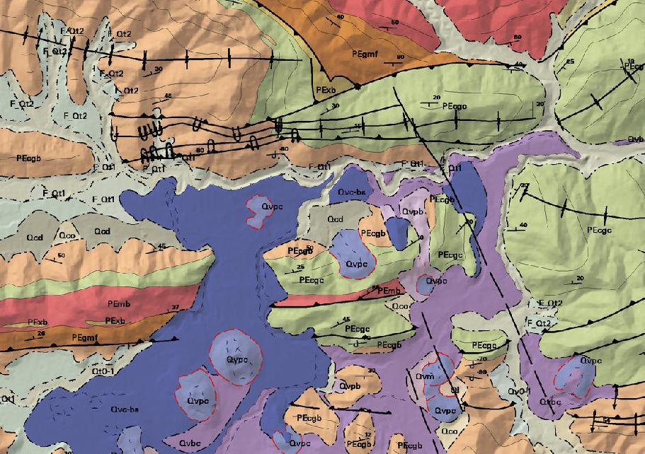Mapa geol